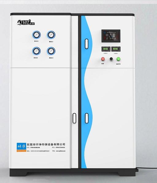 一体式去离子水设备,出水电阻可以达到18M以上,适合于各种高标准要求的场合。