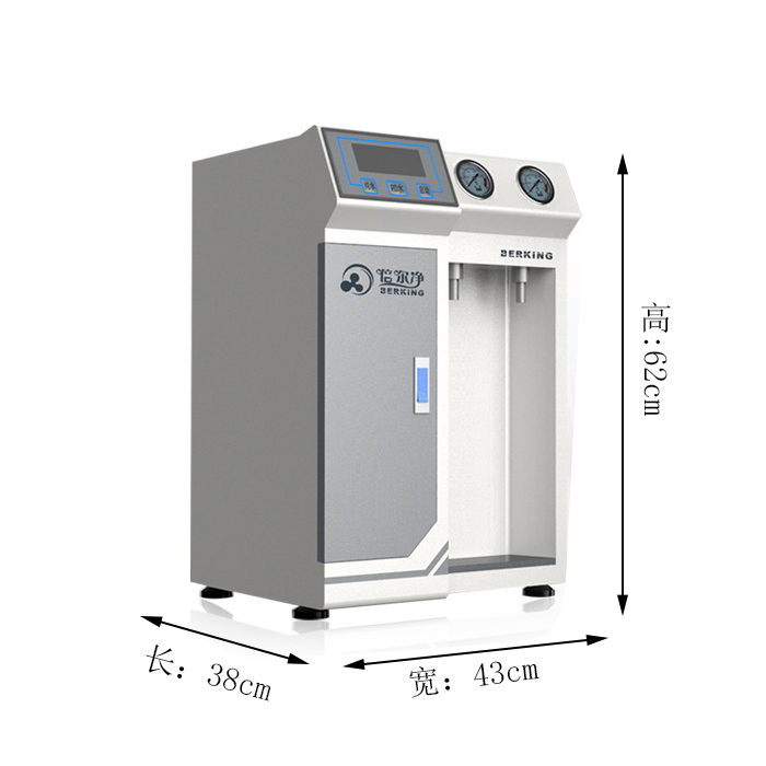 QC系列实验室去离子水机,出水量从10L,20L,30L,50L几种型号,还有100L,200L,300L等,出水电导率0.056us/cm。