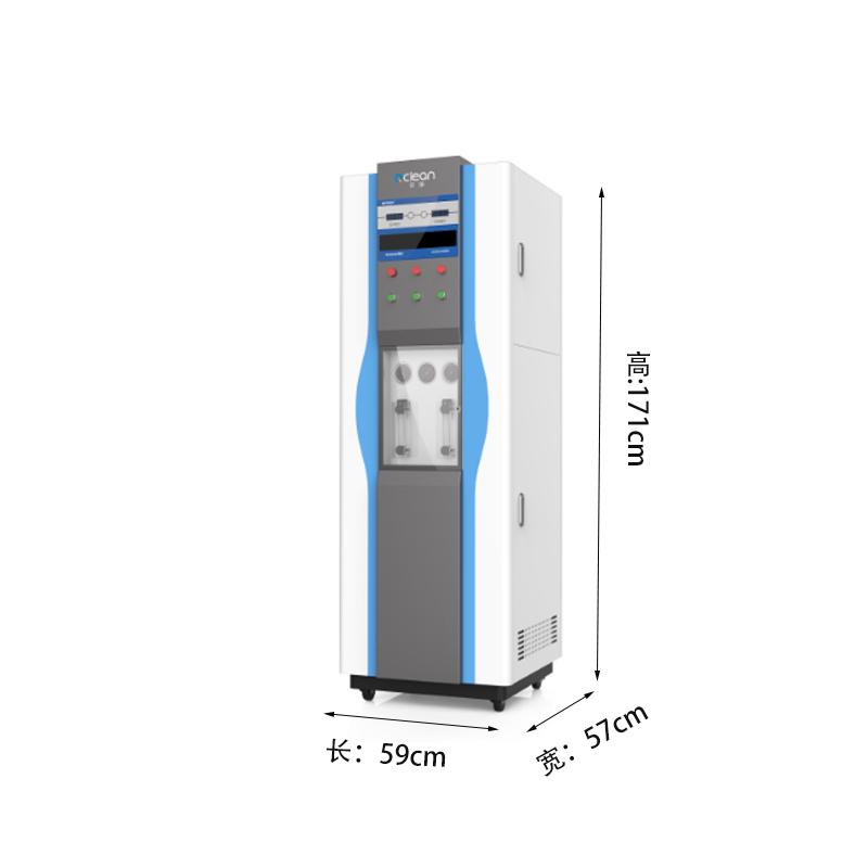 EA系列去离子水设备,无需更换耗材,直接用EDI电去离子工艺,出水水质可以达到18M以上;