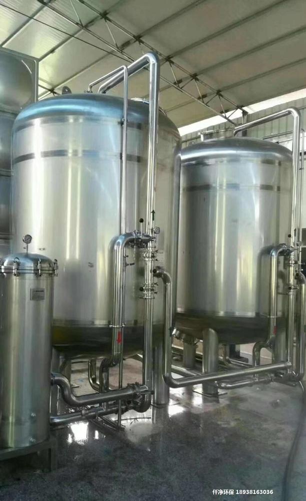 离子交换式纯水系统,阴阳床去离子水设备,传统工艺,水质稳定,无需更换滤芯等耗材。